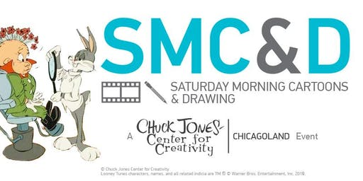 SMC&D Saturday Morning Cartoons & Draw 8-24-19 Bugs Bunny & Elmer Fudd
