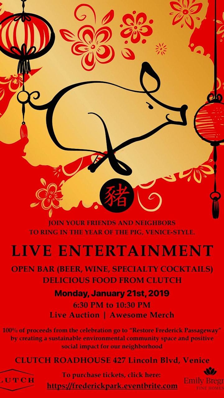 Chinese New Year Celebration and Venice Neighborhood Fundraiser image