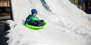 SNOW DAY Sledding at Waverly Place - March 9, 2019