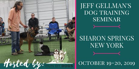 Sharon Springs, NY - Jeff Gellman's Dog Training Seminar tickets