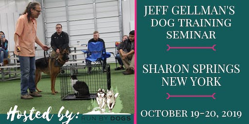 Sharon Springs, NY - Jeff Gellman's Dog Training Seminar