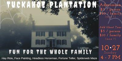 Haunted History at Tuckahoe Plantation