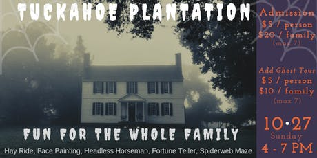 Haunted History at Tuckahoe Plantation tickets