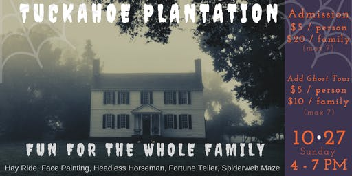 Haunted History at Tuckahoe Plantation