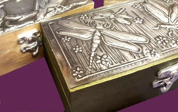 Pewter Embossing Workshop (Full Day) tickets