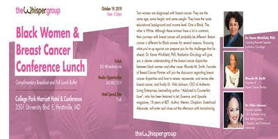Black Women & Breast Cancer Conference Lunch