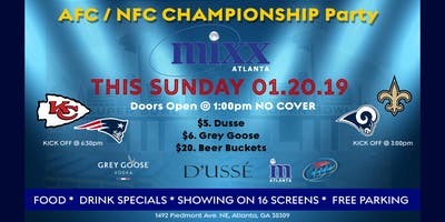AFC / NFC Championship Party