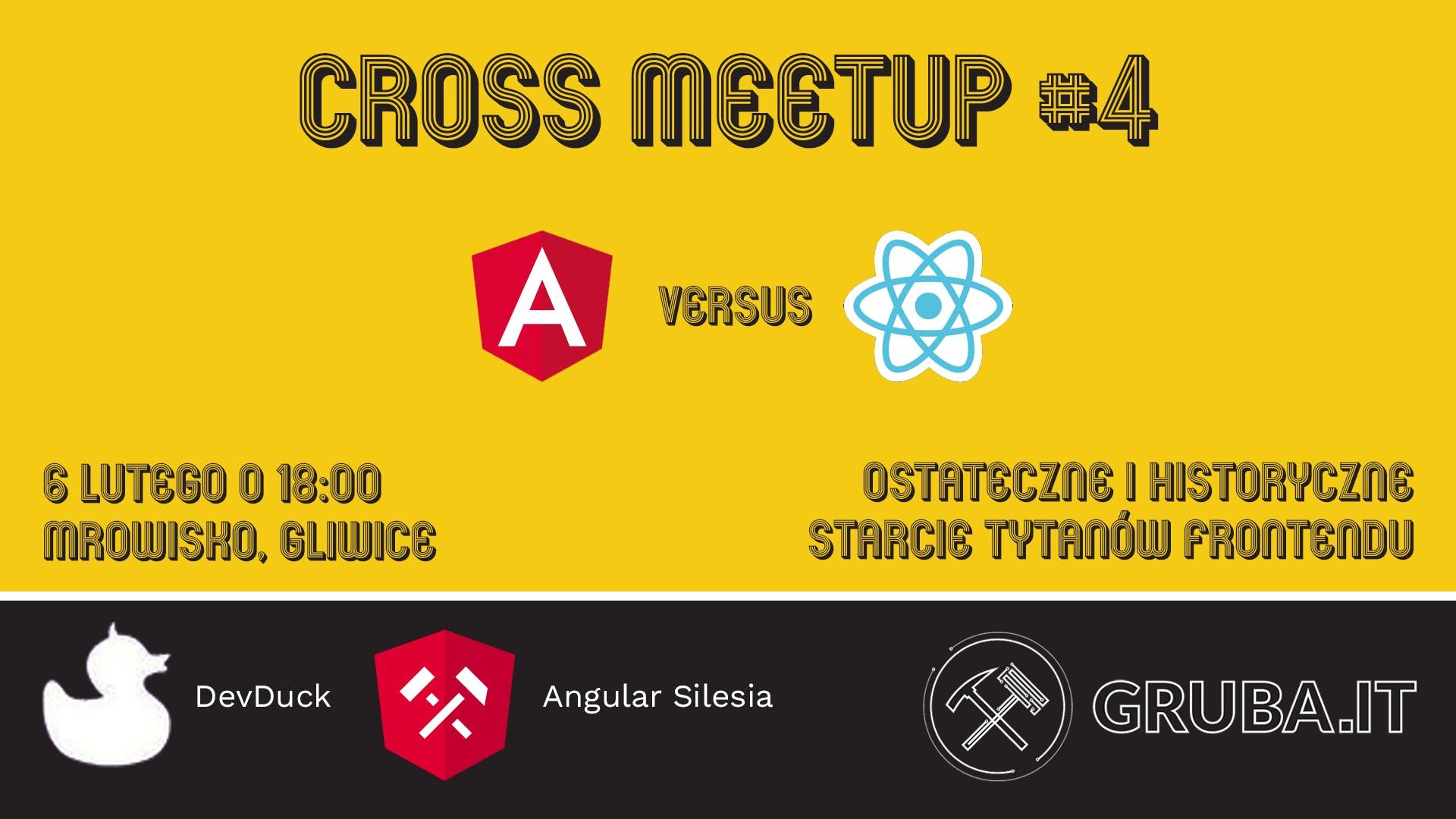 Cross Meetup] Angular vs React #4 - 6 FEB 2019