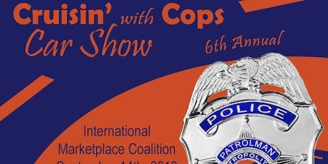 2019 - 6th Annual IMPD Cruisin' W/Cops Car Show tickets