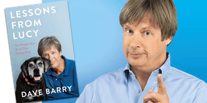"Dave Barry discussing ""Lessons From Lucy""!"