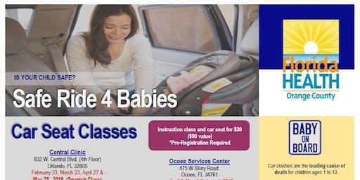 Safe Ride 4 Babies - Creole- Ocoee Services Center