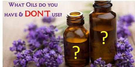 The Essential Oils You Don't Use!! tickets