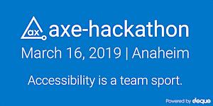 Axe-Hackathon 2019