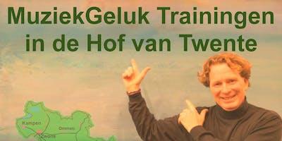 MuziekGeluk Trainingen in de Hof van Twente