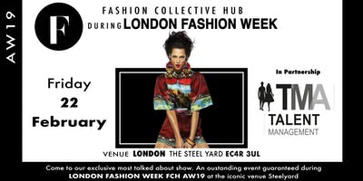FCH FASHION SHOW & VIP PARTY during London Fashion Week AW19