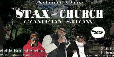The Stax and Church Valentines Comedy Show