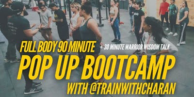 90 Minute Full Body Fitness Bootcamp (Plus Motivational Seminar)