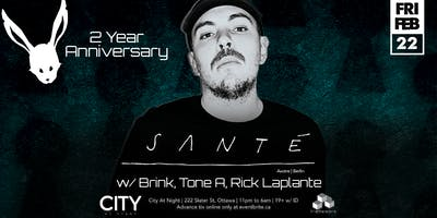 Santé at White Rabbit 2nd Anniversary - Dancing 11pm to 6am
