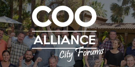 The COO Alliance City Forum San Diego  tickets