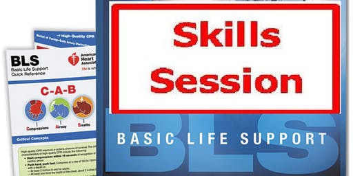 AHA BLS Skills Session September 23, 2019 (INCLUDES Provider Manual E-Book!) from 4 PM to 6 PM at Saving American Hearts, Inc. 6165 Lehman Drive Suite 202 Colorado Springs, Colorado 80918.