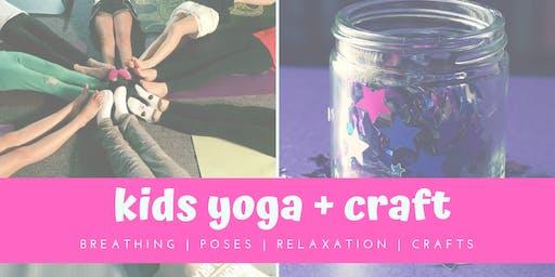 Kids Yoga + Mindfulness Jar Craft