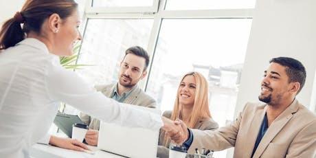 Entrevue de groupe - Emploi en conseil financier billets