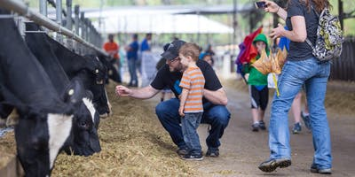 2019 Family Day at the Dairy Farm. Event is free to the public. Tickets are not needed.
