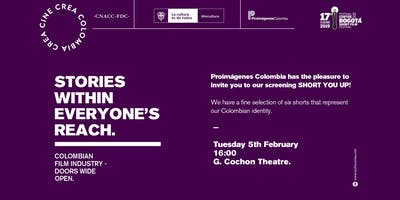SHORT YOU UP! | COLOMBIAN MARKET SCREENING