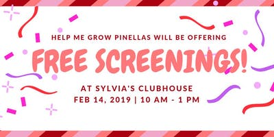 Free Developmental Screenings at Sylvia's Clubhouse - Valentine's Day