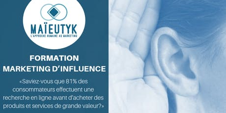 Formation Maïeutyk: Marketing d'influence billets