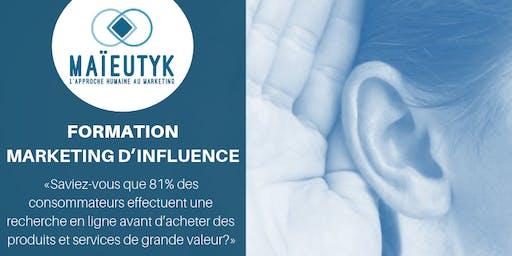Formation Maïeutyk: Marketing d'influence