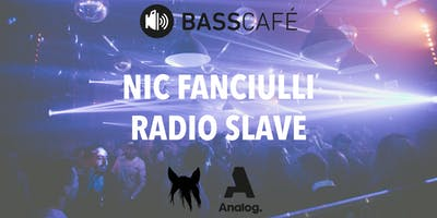 Basscafé mit Nic Fanciulli & Radio Slave im Heinz Gaul