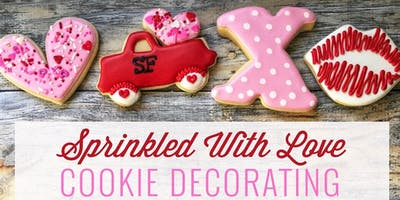 Sprinkled with Love: Cookie Decorating in The Barn | 2.13.19