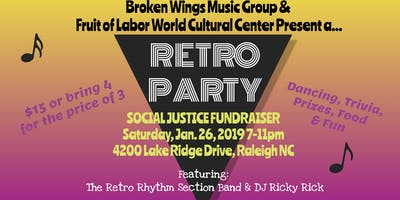Throwback Retro Party ft. Retro Rhythm Section Band & DJ Ricky Rick