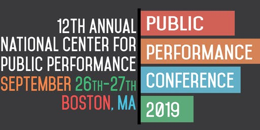 12th Annual Public Performance Conference