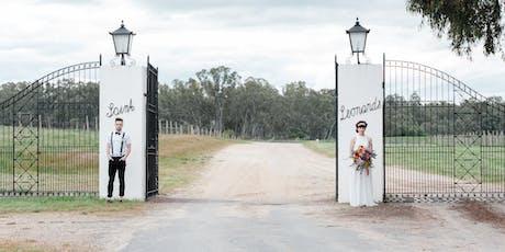 St Leonards Vineyard Wedding Menu Tasting tickets