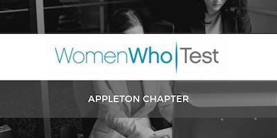 Women Who Test, Appleton Chapter: Meet & Greet