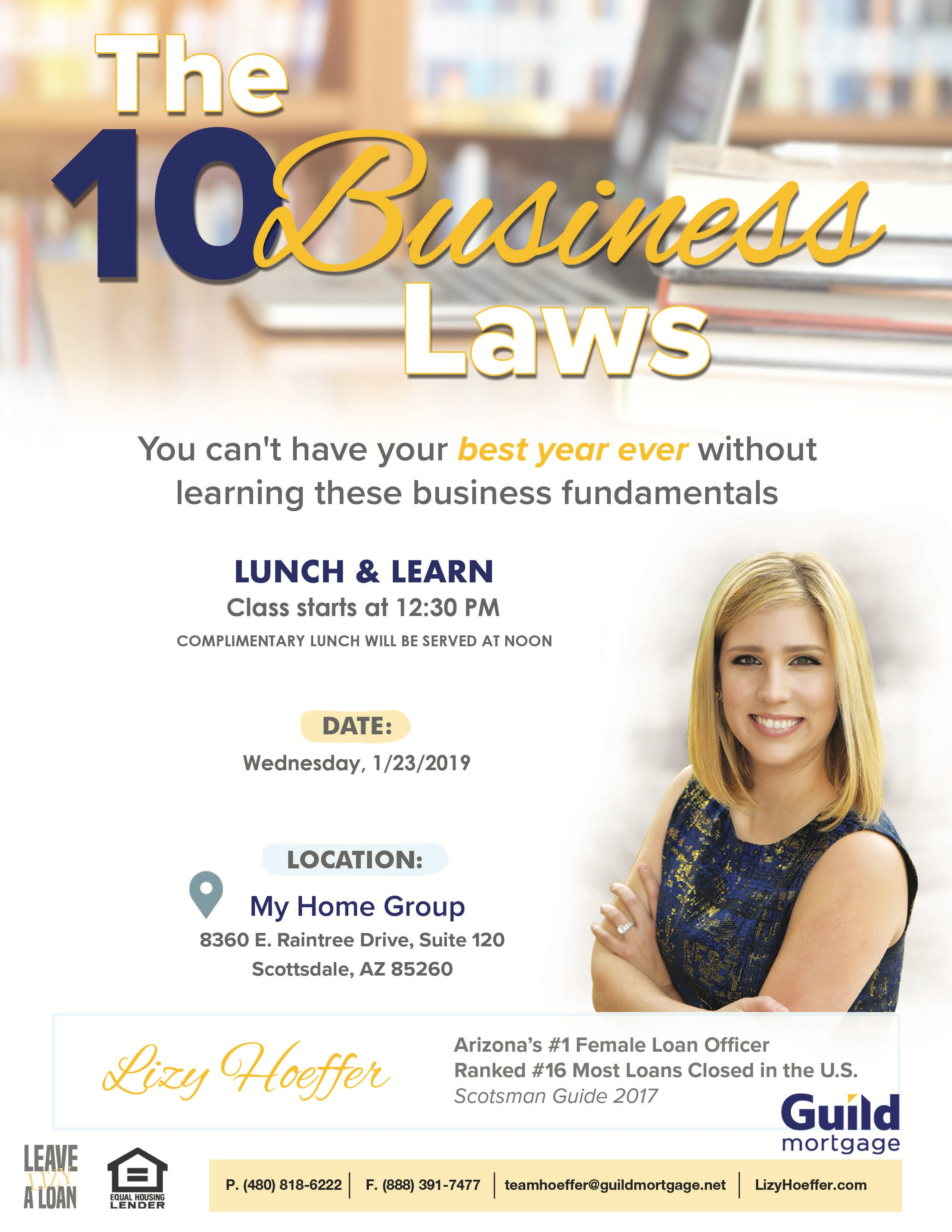 The 10 Business Laws with Lizy Hoeffer