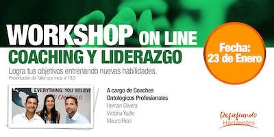 WORKSHOP ONLINE - Taller de Coaching y Liderazgo