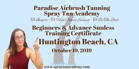Spray Tan Academy™ BronzeUp Sunless Tour - Spray Tan Training - Beginners & Advance tickets