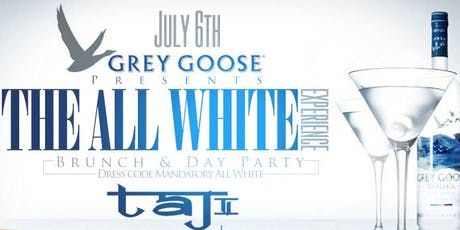 Grey Goose Presents: All White Affair, Open Bar + Free Entry + Hookah @ Taj tickets