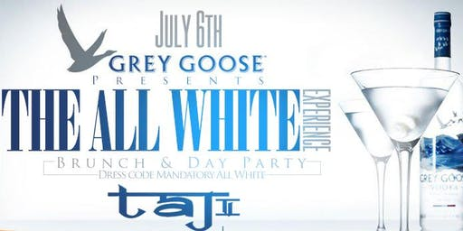 Grey Goose Presents: All White Affair, Open Bar + Free Entry + Hookah @ Taj