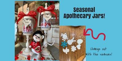 Apothecary Jar Workshop