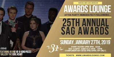 Awards Lounge immediately following the 25th Screen Actors Guild Awards