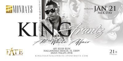 King Frantz at $2 Mondays - All White Affair