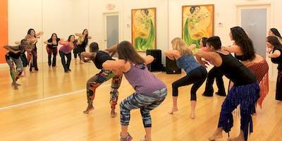 African Dance Class (7:35pm) | Belly Motions World Dance Studio