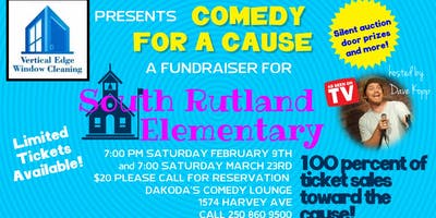 Vertical Edge presents Comedy for a Cause for South Rutland Elementary
