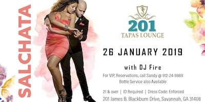 salchata at 201 Tapas Lounge January 26 2019