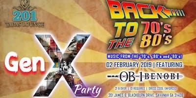 GenX: 70s 80s & 90s Party