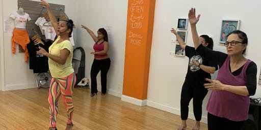 Beginner Samba Class (7:35pm) | Belly Motions World Dance Studio